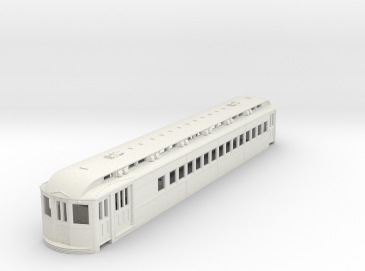 O Scale L&WV Combine-Long Body 3d printed