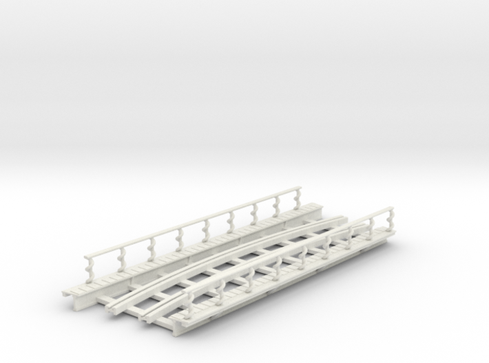 R-165-curve-2r-bridge-track-long-plus-walkway-sp-2 3d printed