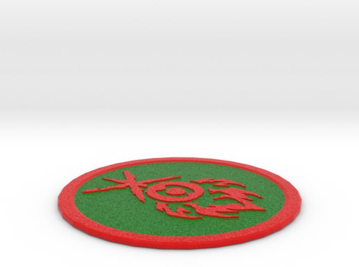 Gruul Coaster 3d printed