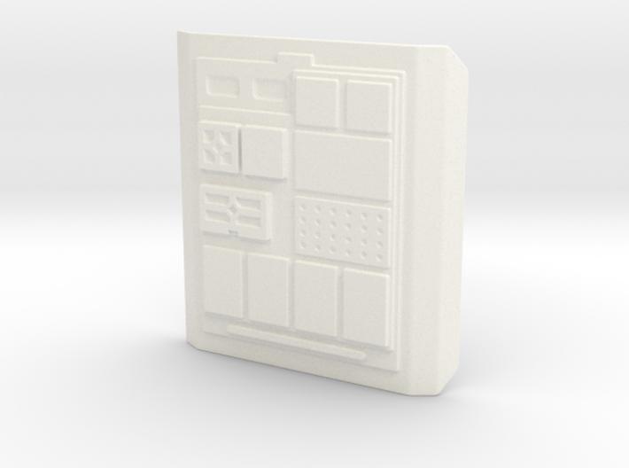 Comm Pad Flat 3d printed