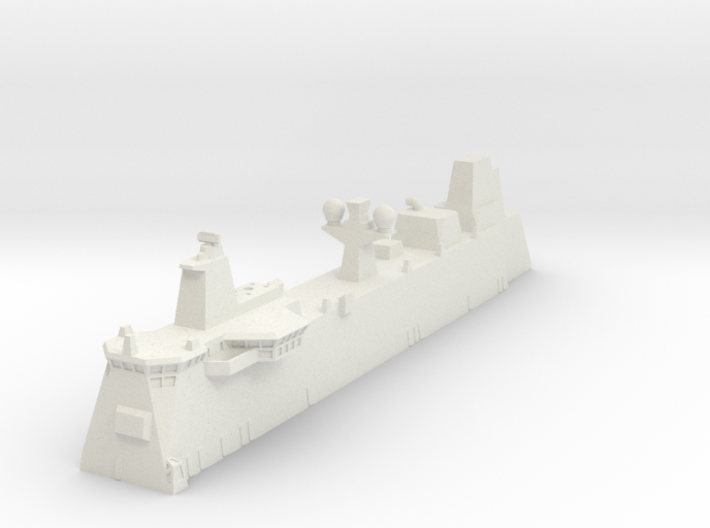 Canberra LHD Island 1/700 3d printed