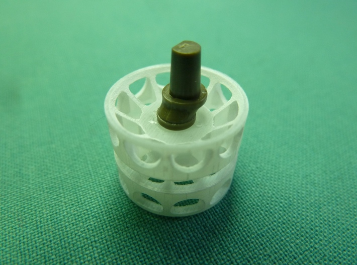T-54 Early Idler Wheel for Tamiya T-55 1/35 3d printed Add a caption...