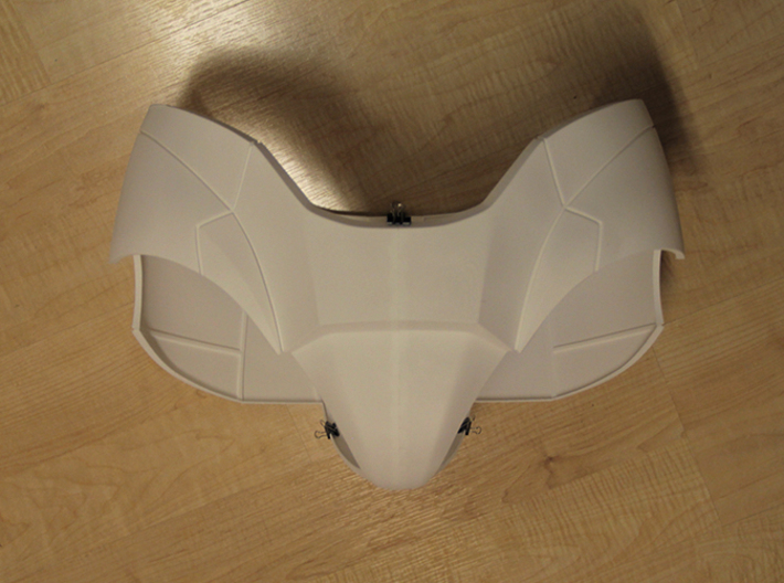 Iron Man Pelvis Armor, Front Left (Part 1 of 5) 3d printed Actual 3D Print (All parts combined)