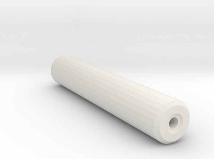 1911 Airsoft Mock Silencer (14mm Self-Cutting) 3d printed