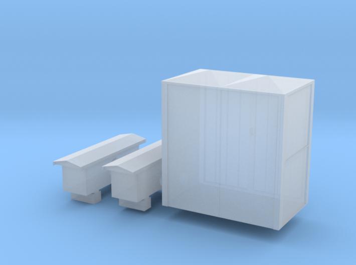 Armoire électrique 1 3d printed