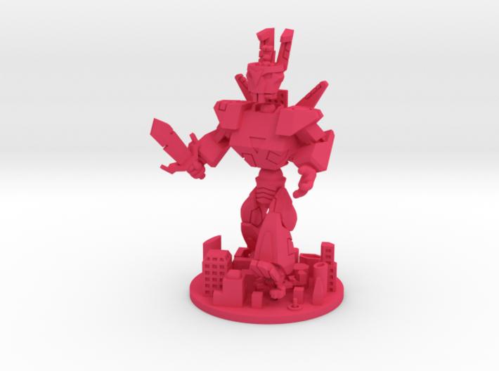 KoT Cyberbunny assy. 3d printed