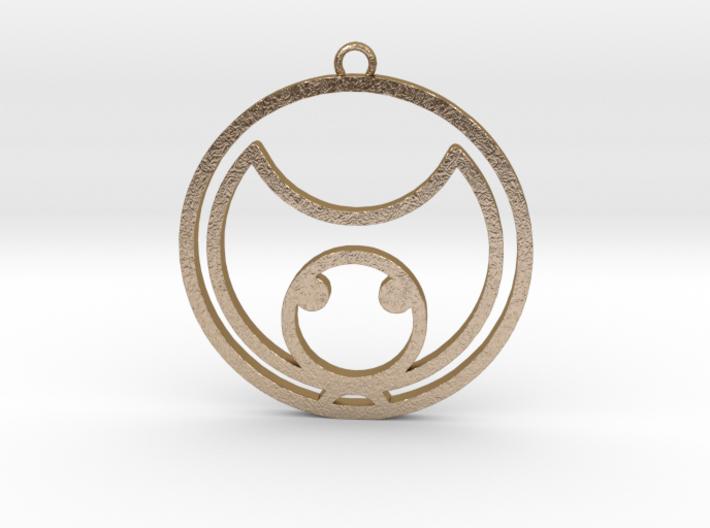 Kat - Necklace 3d printed
