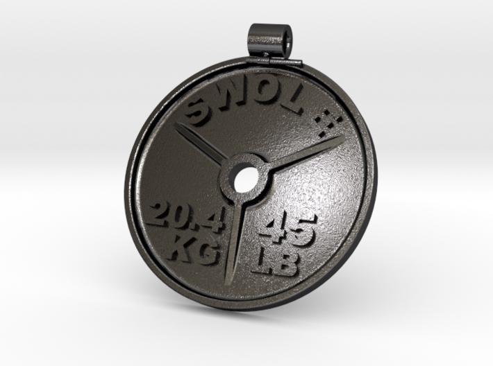 SWOLE Plate - Pendant 3d printed