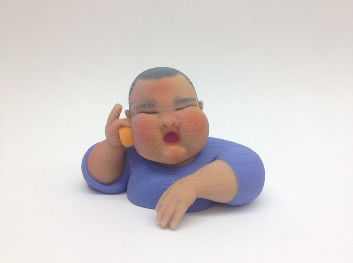 I will find you and eat you 3d printed