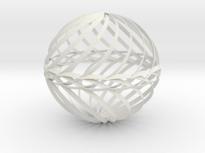 Decorative Ball Twist Spiral V1 3d printed