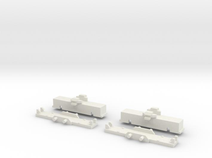 UBL1 Drehgestell ohne Antrieb 3d printed