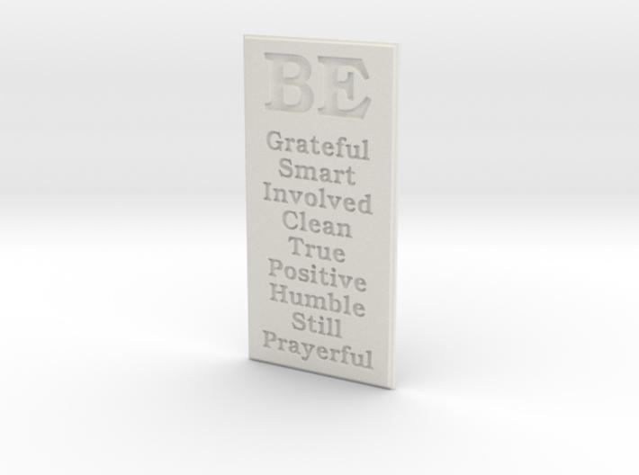 Nine Be's 3d printed