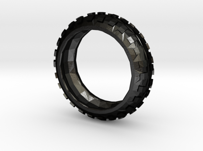 Motorcycle/Dirt Bike/Scrambler Tire Ring Size 12 3d printed