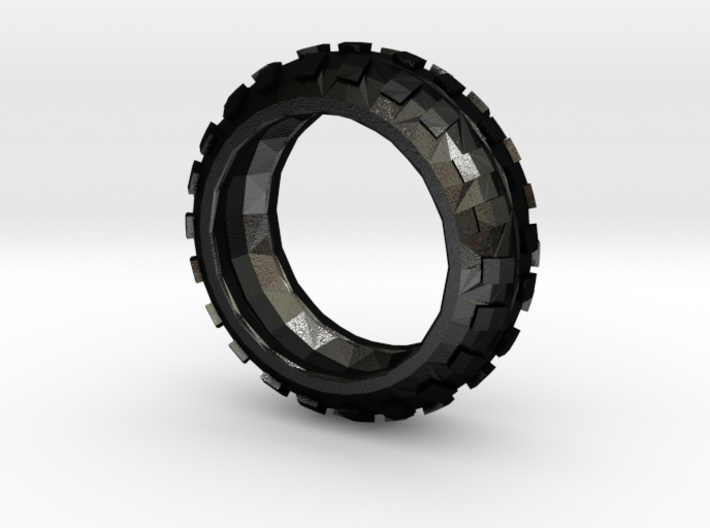 Motorcycle/Dirt Bike/Scrambler Tire Ring Size 7 3d printed