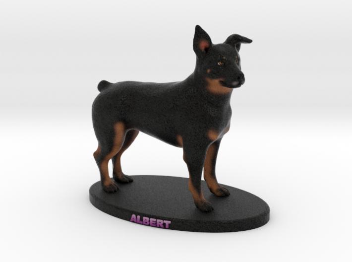 Custom Dog Figurine - Albert 3d printed