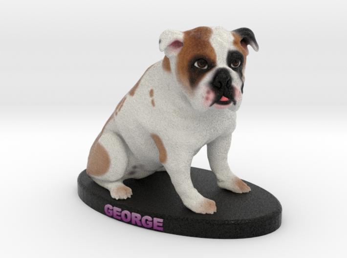 Custom Dog Figurine - George 3d printed