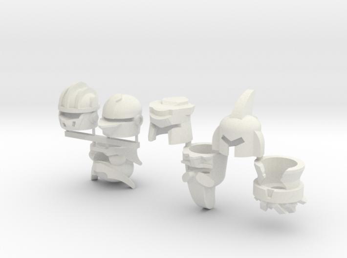Robohelmets: The Extinct Cavalry 3d printed