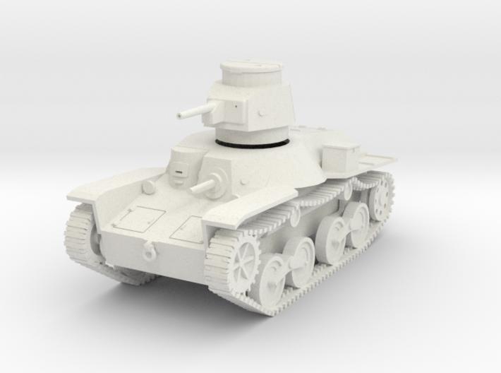 PV48A Type 95 Ha Go Light Tank (28mm) 3d printed