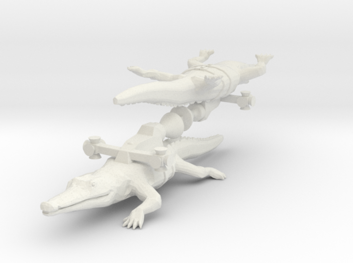 Rocket Crocodile from the World of Tomorrow 3d printed