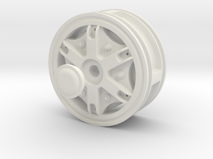 Wheel-Front-Hex-drive 3d printed
