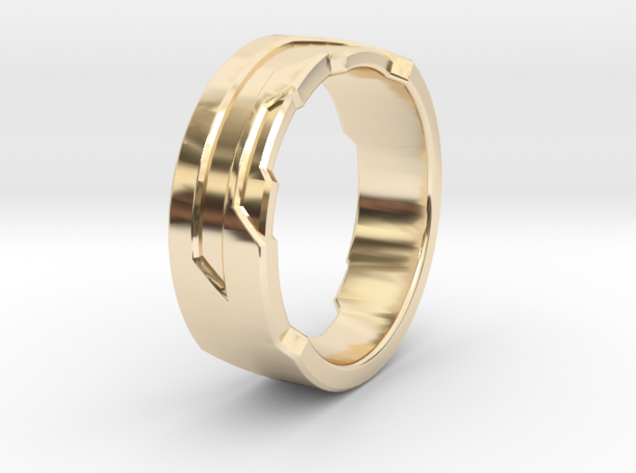 Ring Size I 3d printed