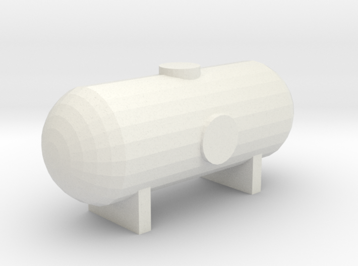 N SCALE 16 FOOT PROPANE TANK 3d printed