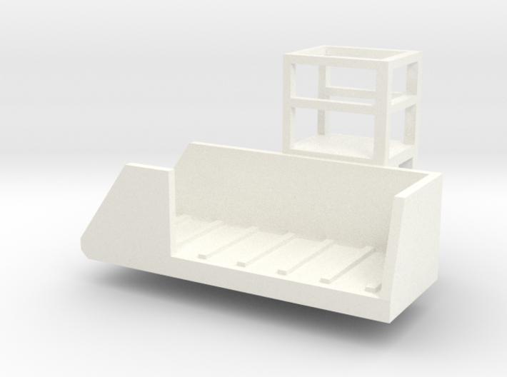 Vertical Mixer Conveyer 3d printed