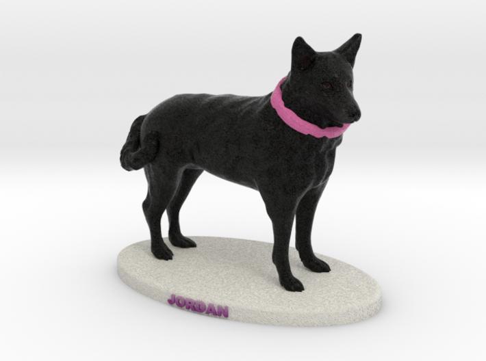 Custom Dog Figurine - Jordan 3d printed