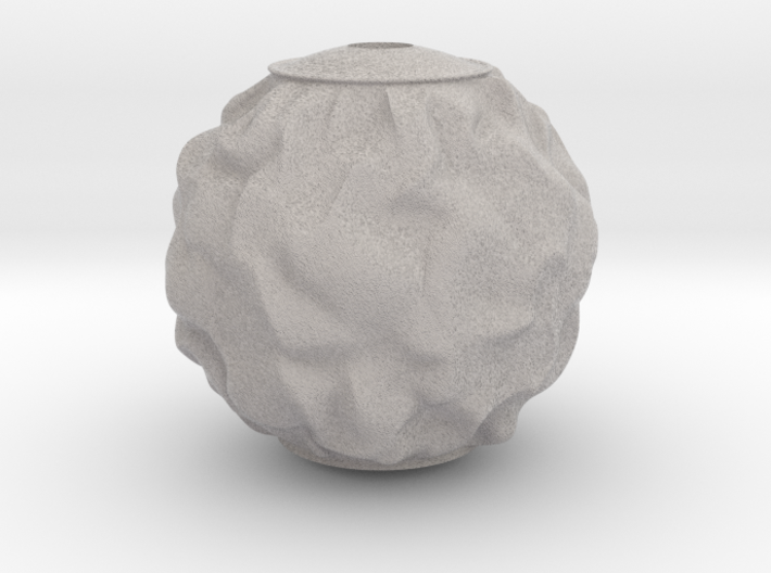 Bauble, Ball, Wrinkled 3d printed