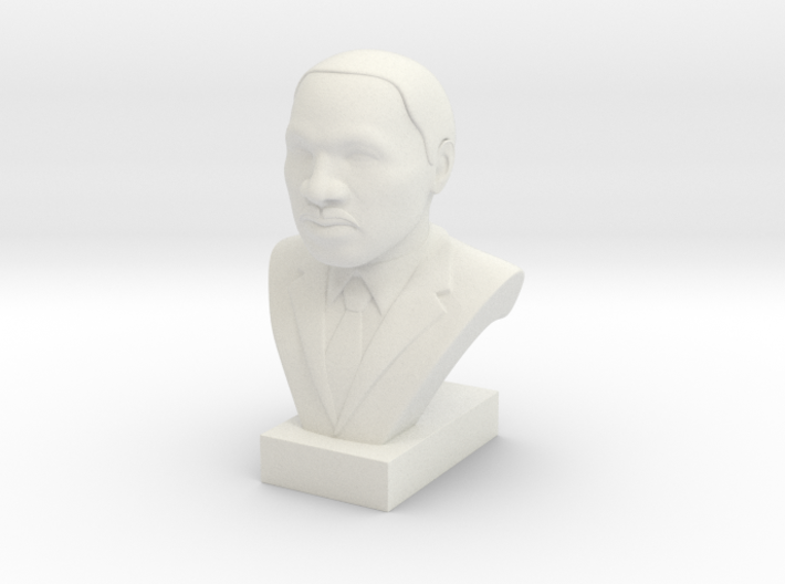 Martin Luther King Jr. 3d printed