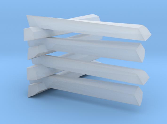 Split Rail Fence 3d printed