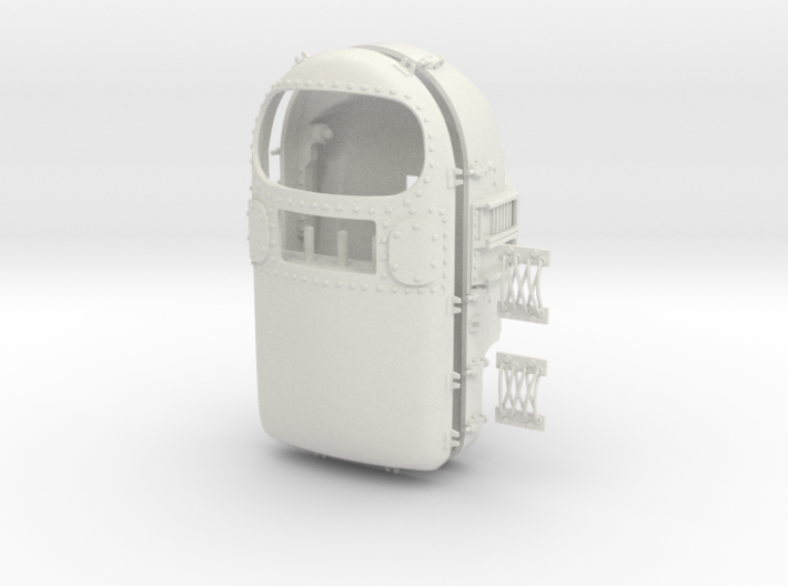 """HAM"" Chimp Mercury Astronaut Box (154mm) 3d printed"