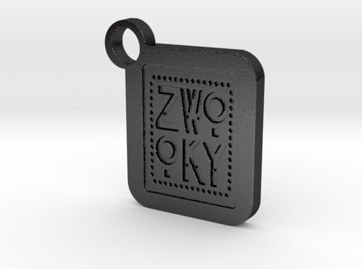ZWOOKY Keyring LOGO 34 5cm 6mm 3d printed
