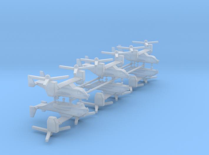 1/700 CV-22 / MV-22 Osprey (x6) 3d printed