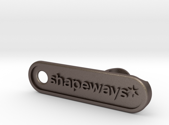 Shapeways Personalized Bottle Opener 3d printed