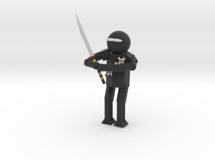 Model Ninja 3d printed