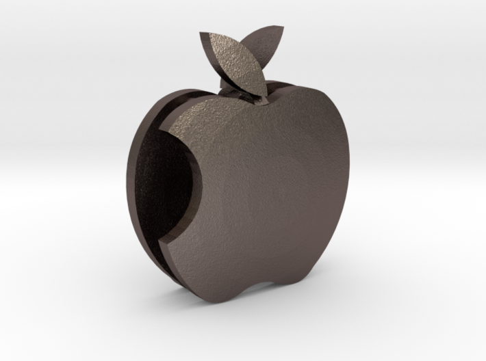 Apple Pendant keychain 3d printed