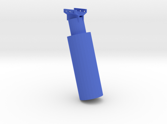 Grenade Canister Foregrip 3d printed