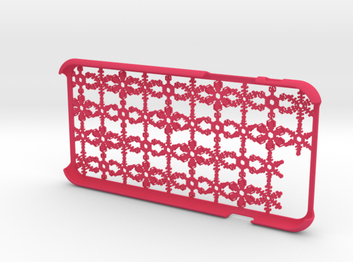 Snowflake iPhone6 4.7inch case 3d printed