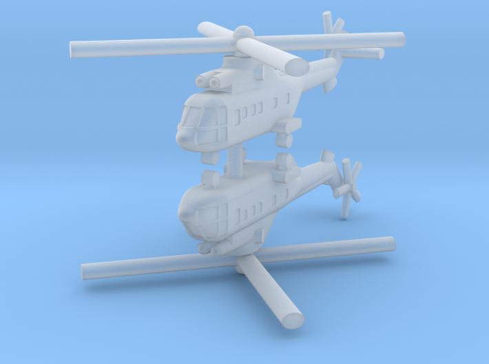 1/285 AS-332 Super Puma (x2) 3d printed