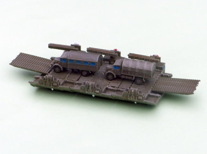M2 Alligator Amphibious Bridging Vehicle 1/285 6mm 3d printed Configuarated as Ferry