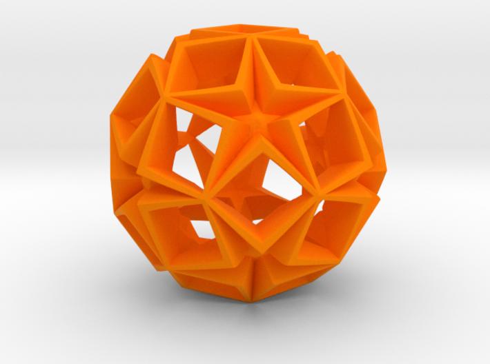 Fractal Stars 150mm 3d printed