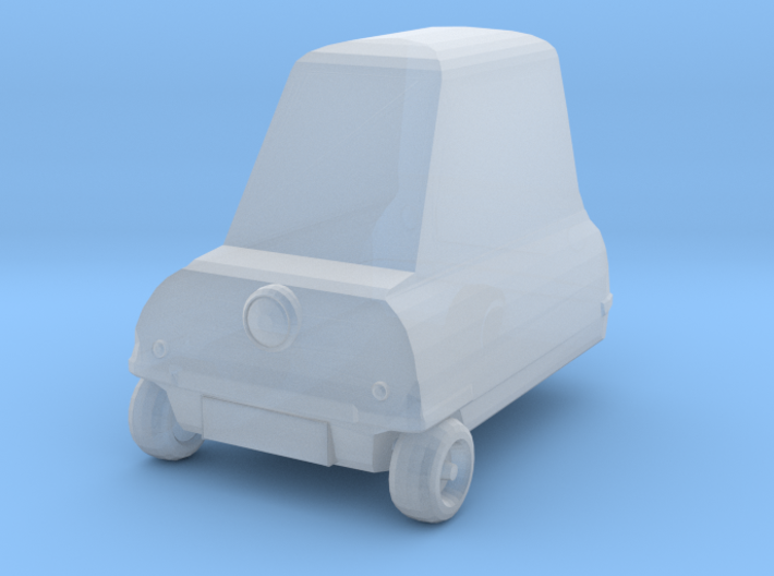 1:76 Scale Peel P50 3d printed