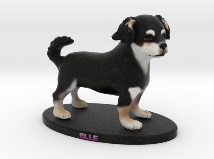 Custom Dog Figurine - Elle 3d printed