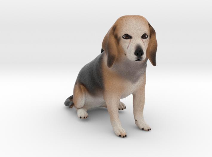 Custom Dog Ornament - Maggie 3d printed