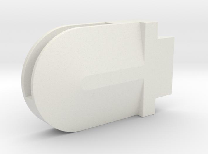 Helmet Right Ear Upper 3d printed