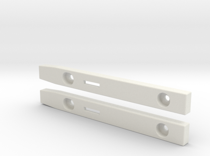 """3,5"""" Floppy Rails compatible to Amiga 3000 T 3d printed"""