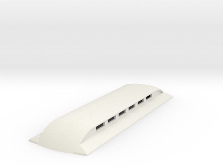 Sn2 replacement roof for short coaches 3d printed