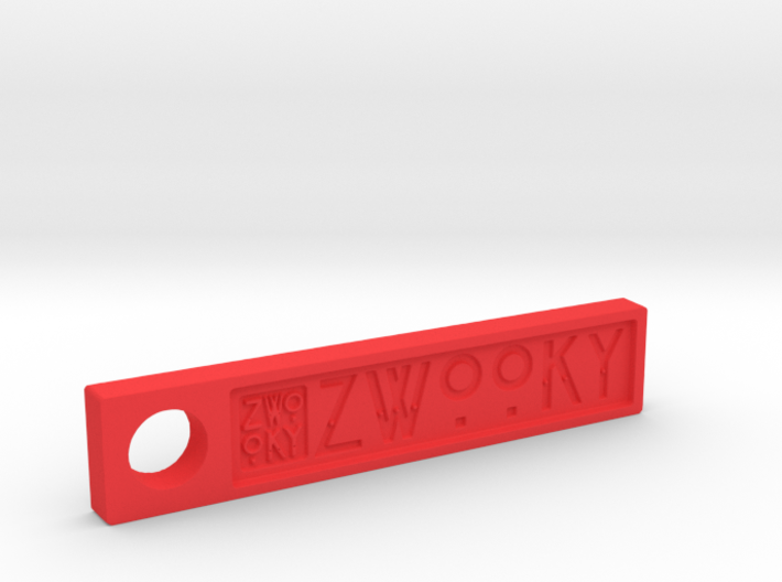 ZWOOKY Style 6 Sample - Keyring 3d printed ZWOOKY