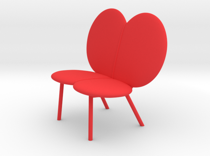 WINGBEAT loveseat by RJW Elsinga 1:10 3d printed WINGBEAT loveseat by RJW Elsinga 1:10